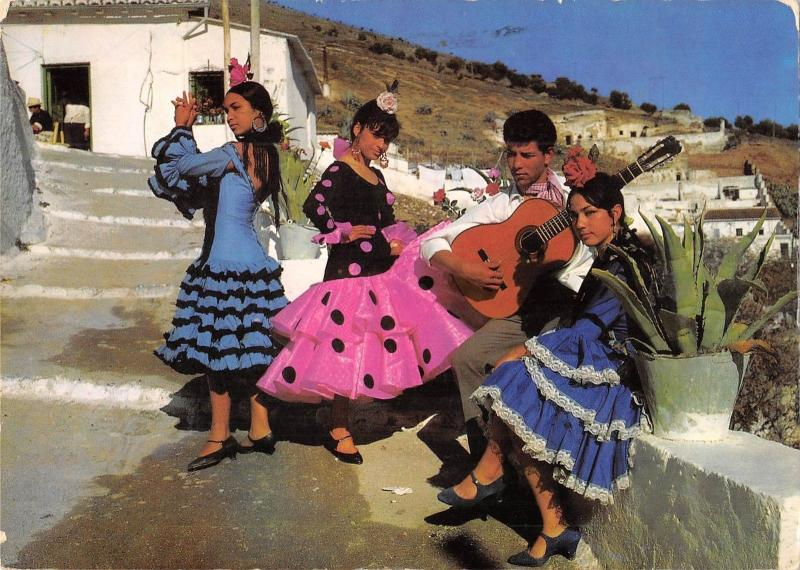 BT7304 Tipos gitanos folklore dance music