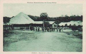 Belgian Congo Rungu Entree de la Mission