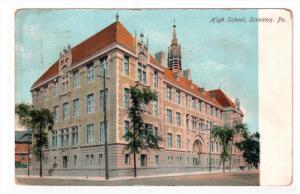SCRANTON, Pennsylvania, 1900-1910's; High School