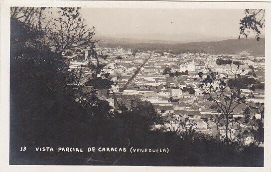 RP: CARACAS , Venezuela , 1920-40s; Partial View