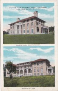 Wisconsin Fond du Lac Harris Hall & Neprud Cottage Women's State Industrial H...
