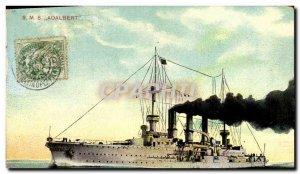 Old Postcard Boat War SML S Adalbert