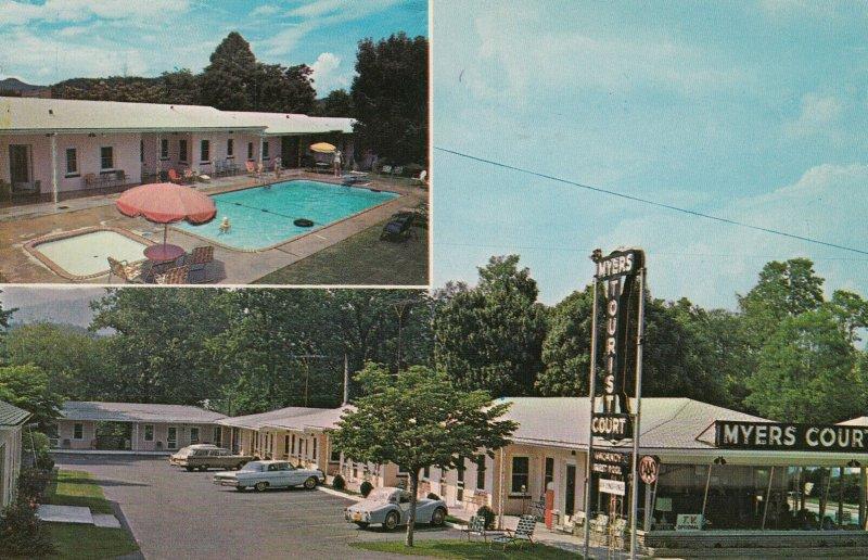 BRYSON CITY, North Carolina, 50-60s, Myers Court