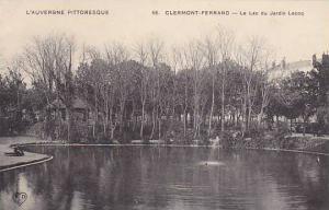 L'Auvergne Pittoresque, CLERMONT-FERRAND, Le Lac su Jardin Lecoq, France, 00-10s