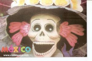 Postal 034346 : Mexico. Dia de muertos en Mexico
