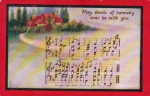 Song Card May Chords Of Harmony Ever Be With You