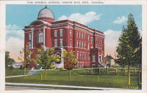 The Normal School, North Bay, Ontario, Canada, 1930-1940s