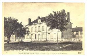 La Mairie Et Les Ecoles, Villefranche-sur-Cher (Loir et Cher), France, 1900-1...