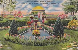 Alabama Birmingham Garden Scene At Vestavia