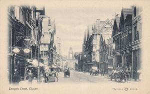 CHESTER , England , Pre-1907 ; Eastgate Street