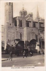 RP; Spain. Barcelon , Facade of Cathedral , 20-30s