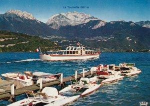 LAC D'ANNECY, La Tournette, 50-70s, Haute-Savoie, France