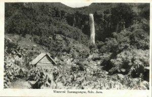 indonesia, JAVA SURAKARTA SOLO, Tawangmagoe Waterfall (1920s) Postcard