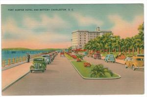 1650  SC  Charleston  Fort Sumter Hotel and Battery