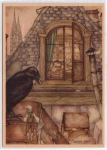 Raven by Anton Pieck
