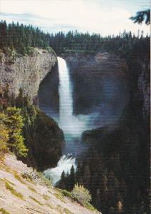 Canada British Columbia Clearwater Helmchen Falls