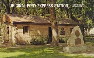 Nebraska Gothenburg Original Pony Express Station City Park