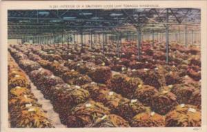 Interior Of A Southern Loose-Leaf Tobacco Warehouse
