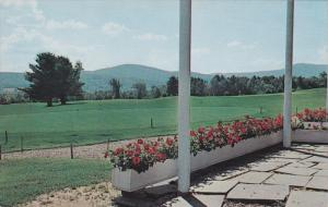 View From Clubhouse, Wilson Lake Country Club, WILTON, Maine, 40-60's