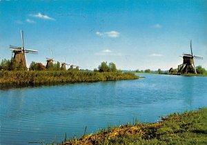 Dutch Windmill Holland 1970