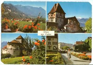 Liechtenstein, Gruss aus Vaduz, used Postcard
