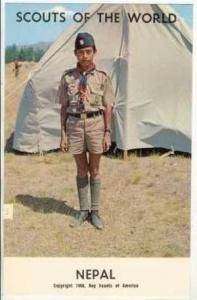 Boy Scouts of the World, NEPAL SCOUTS, 1968