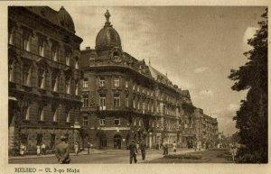 poland germany, BIELITZ BIELSKO, Ulica 3 Maja (1950s) Postcard
