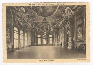 Veneziano, Italy, 30-40s, Mostra del Settecento  Sala da Ballo