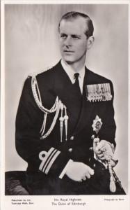 His Royal Highness The Duke Of Edinburgh Real Photo