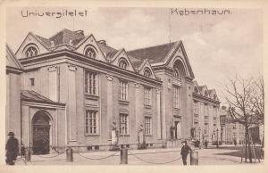 Kobenhavn Universitet Denmark University Old Postcard