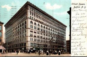 New York Buffalo Ellicott Square 1906