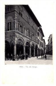 Pisa  Via del Borgo