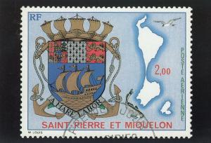 SAINT-PIERRE-ET-MIQUELON , 1974 ; Coat of Arms of the Islands