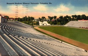 Missouri Columbia Memorial Stadium Missouri University 1942