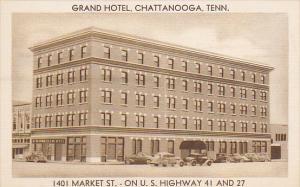 Tennessee Chattanooga The Grand Hotel