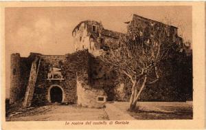 CPA Gorizia Le rovine del castello. ITALY (397060)