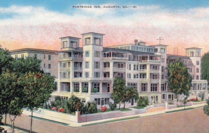 AUGUSTA, Georgia, 1930-40s; Patridge Inn
