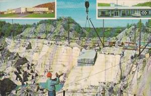 Vermont Barre Rock Of Ages Granite Quarry 1983