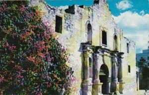 Texas San Antonio The Alamo Built 1718 1961