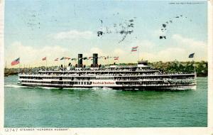 Hudson River Day Line - Steamer Hendrich Hudson