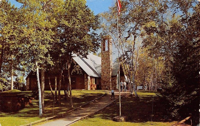 Pine River Minnesotabig Trout Lake Bible Campbaptistchapel1960s