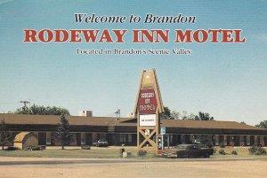 BRANDON , Manitoba , Canada , 50-70s ; Rodeway Inn Motel