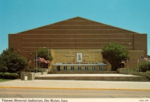 Veterans Memorial Auditorium,Des Moines,IA BIN