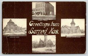 Larned Kansas~Masonic Temple~Christian-ME-Presbyterian Churches~Winter Views~'10