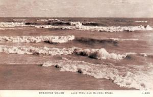 Lake Michigan~Wave Upon Wave~CR Childs Camera Study 1940s