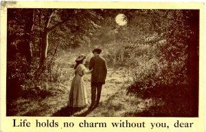 Romantic Couple - Life holds no charm without you