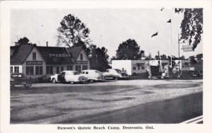 Dawson's Quinte Beach Camp , DESERONTO , Ontario, Canada , 1940s