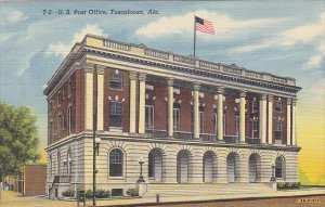 Alabama Tuscaloosa Post Office Curteich