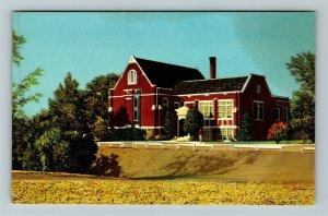 Logan UT-Utah, L D S Institute, U S A C, Chrome Postcard