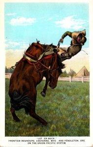 Wyoming Cheyenne Let Er Buck Cheyenne Frontier Roundups